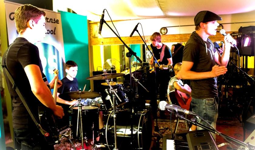 Band wil bekend worden dus doet mee aan een open podium